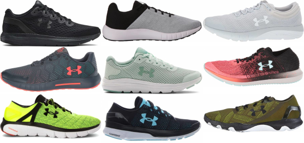 buy under armour lightweight running shoes for men and women