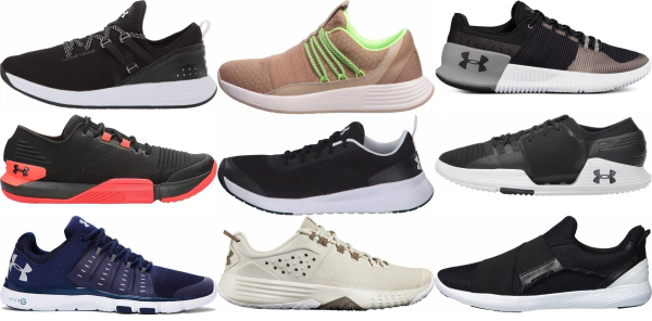 buy under armour lightweight training shoes for men and women