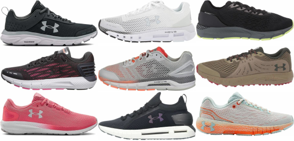 buy under armour long distance running shoes for men and women