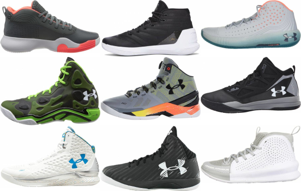 buy under armour mid basketball shoes for men and women