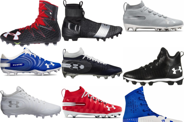 buy under armour molded football cleats for men and women