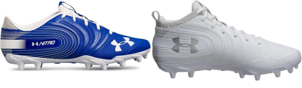 buy under armour nitro football cleats for men and women
