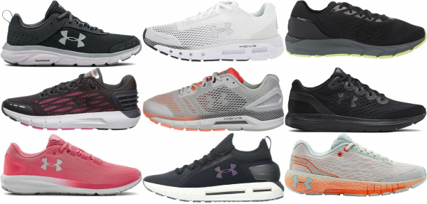 buy under armour road running shoes for men and women