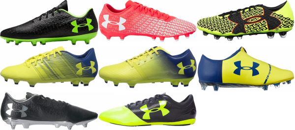 buy under armour soccer cleats for men and women