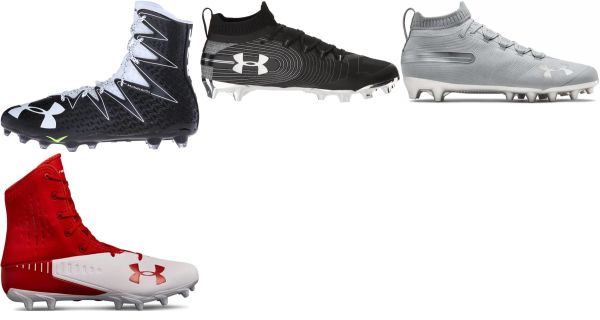 buy under armour super foam football cleats for men and women
