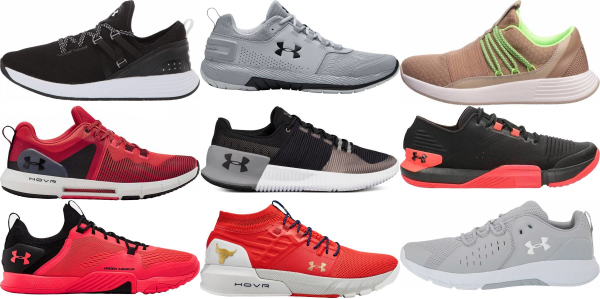 buy under armour training shoes for men and women