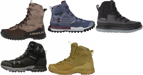 buy under armour waterproof hiking boots for men and women