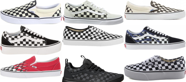 buy vans checkerboard sneakers for men and women