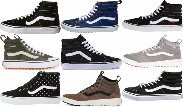 buy vans high top sneakers for men and women