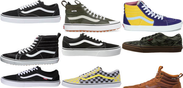 buy vans leather sneakers for men and women