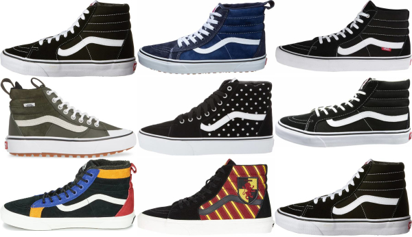 buy vans sk8-hi sneakers for men and women
