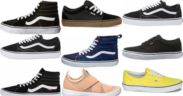 buy vans skate sneakers for men and women