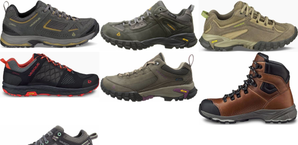buy vasque vibram sole hiking shoes for men and women