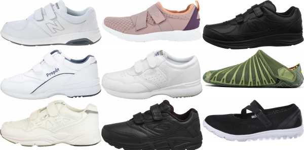 buy velcro walking shoes for men and women