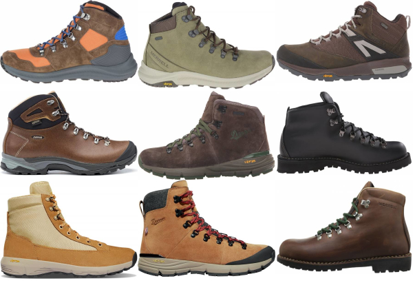 buy vibram hiking boots for men and women