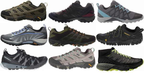 buy vibram sole hiking shoes for men and women
