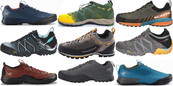 buy vibram sole low approach shoes for men and women