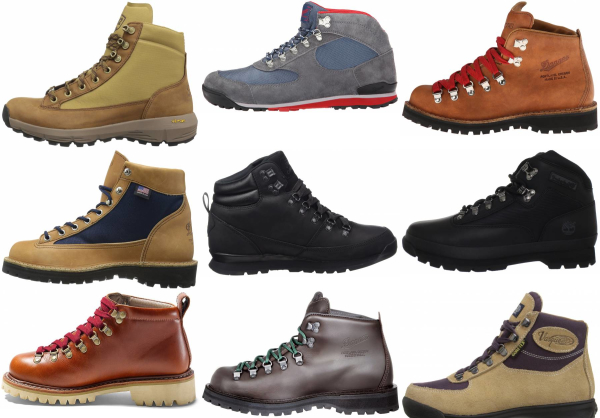 buy vintage hiking boots for men and women
