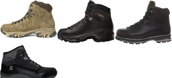 buy water repellent backpacking boots for men and women