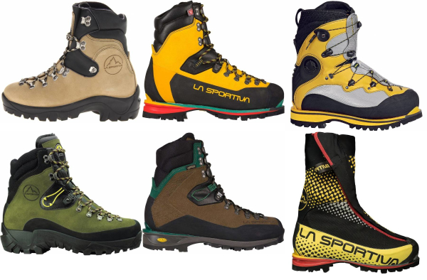 buy water repellent high cut mountaineering boots for men and women