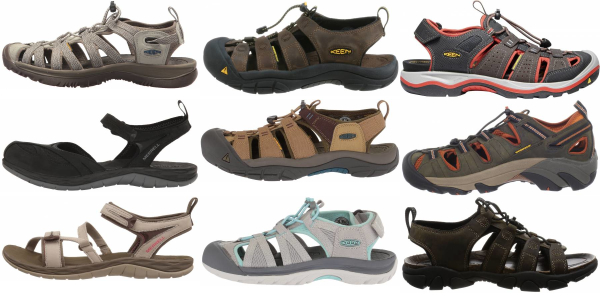 buy water repellent hiking sandals for men and women