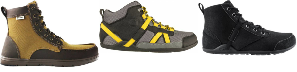 buy water repellent minimalist hiking boots for men and women