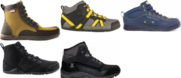 buy water repellent wide toe box hiking boots for men and women