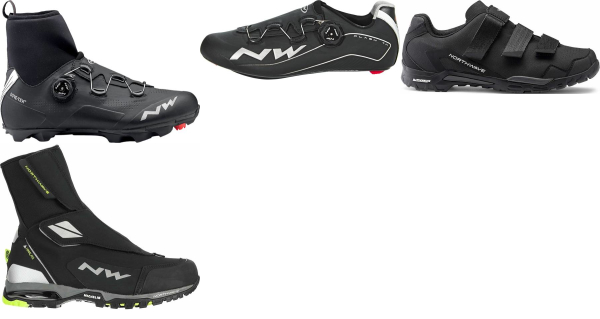 buy water-resistant northwave cycling shoes for men and women
