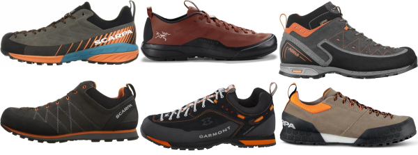 buy water resistant vibram sole approach shoes for men and women