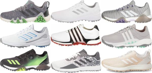 De otra manera masculino flexible  Save 50% on Waterproof Adidas Golf Shoes (14 Models in Stock) | RunRepeat