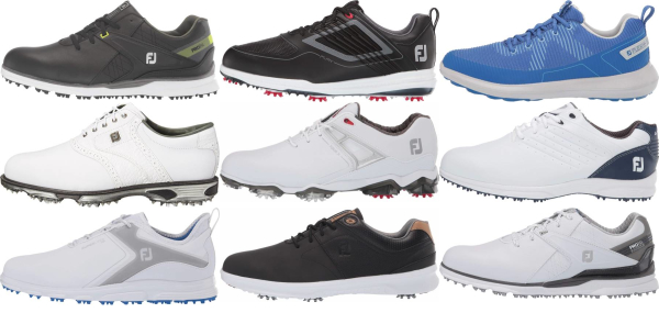 buy waterproof footjoy golf shoes for men and women