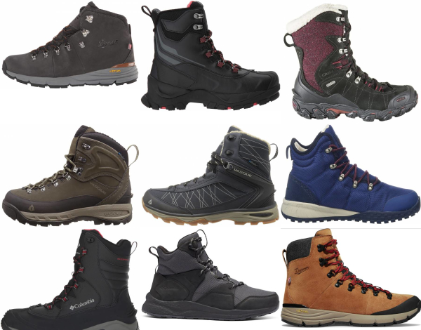 buy waterproof insulated hiking boots for men and women