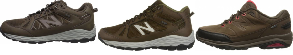 buy waterproof new balance walking shoes for men and women
