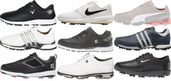 buy waterproof spiked golf shoes for men and women