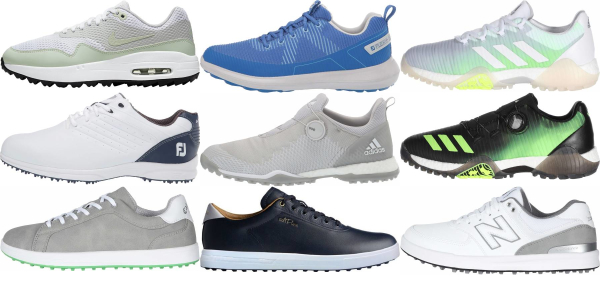 buy waterproof spikeless golf shoes for men and women