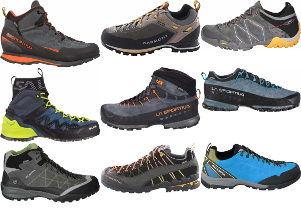 buy waterproof vibram sole approach shoes for men and women