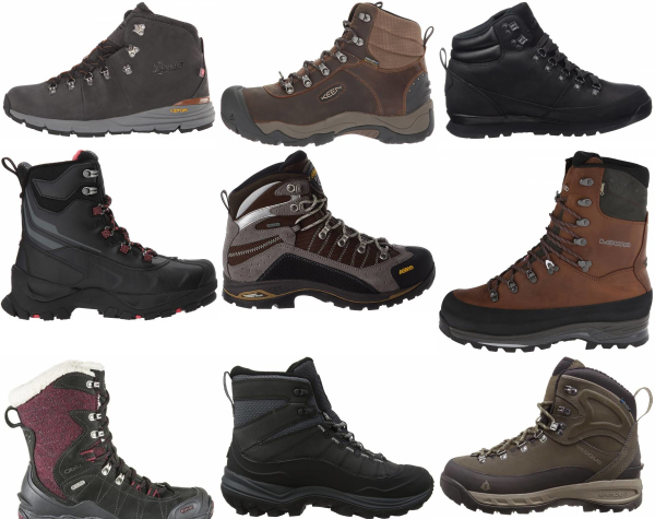 buy waterproof winter hiking boots for men and women