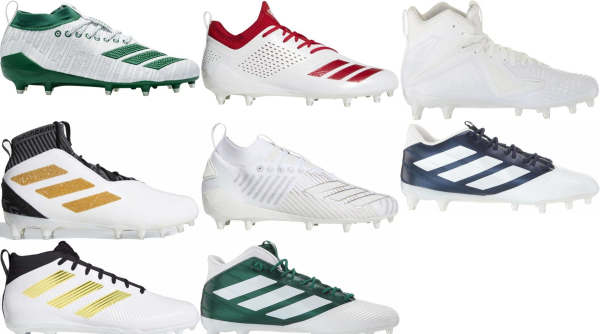buy white adidas football cleats for men and women