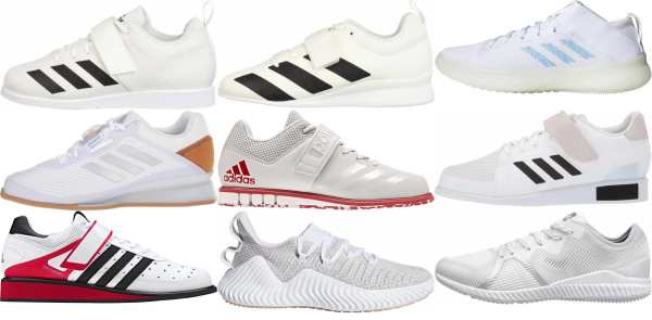 buy white adidas training shoes for men and women