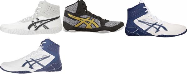 buy white asics wrestling shoes for men and women