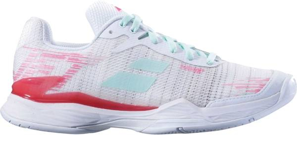 buy white babolat tennis shoes for men and women
