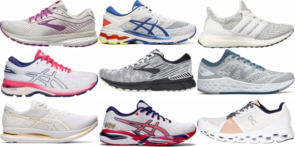 buy white bunions running shoes for men and women