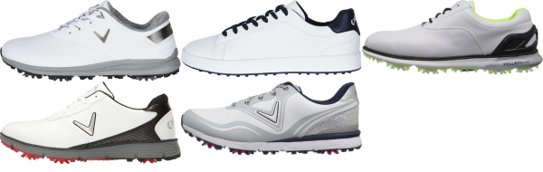 buy white callaway golf shoes for men and women