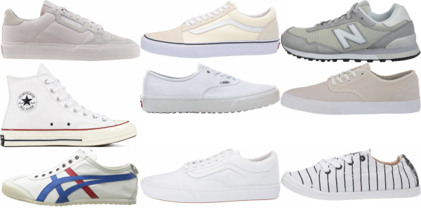 buy white canvas sneakers for men and women