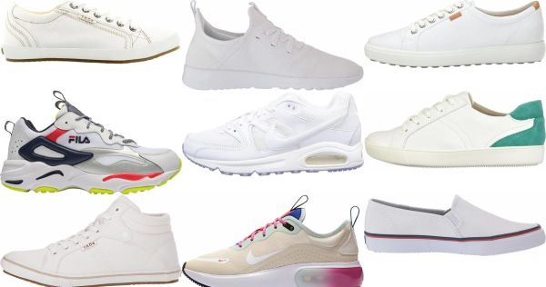 buy white casual sneakers for men and women