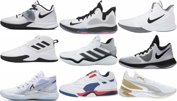 buy white cheap basketball shoes for men and women
