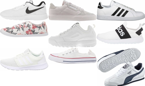buy white cheap sneakers for men and women