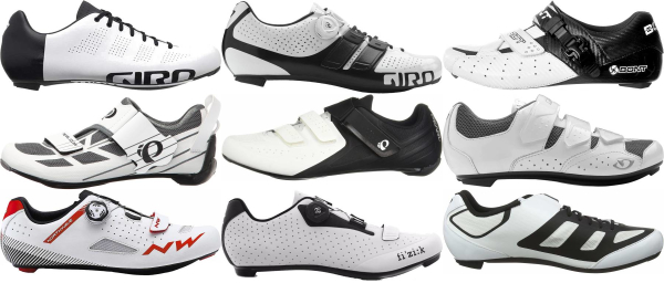 buy white cycling shoes for men and women