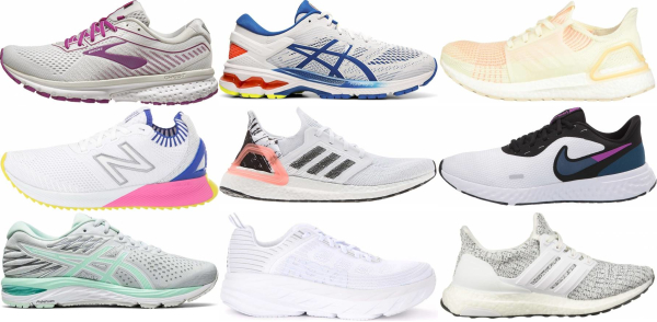 buy white daily running shoes for men and women