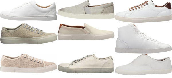 buy white frye sneakers for men and women